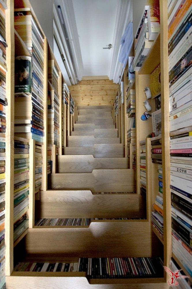 Библиотека-лестница